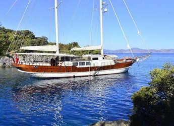 Rent a schooner in Netsel Marina - Gulet Berrak Su