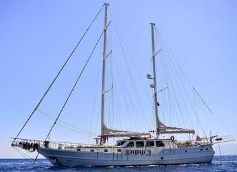 Rent a schooner in Marina Lipari  - Gulet Mia