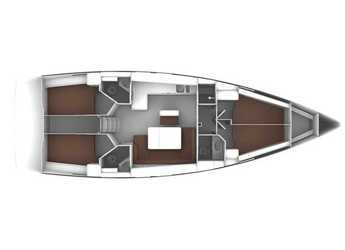Rent a sailboat in Marina d'Arechi - Bavaria Cruiser 46