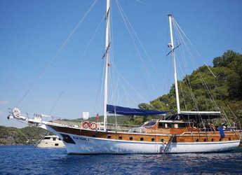 Rent a schooner in Ece Marina - Gulet Blue Pearl