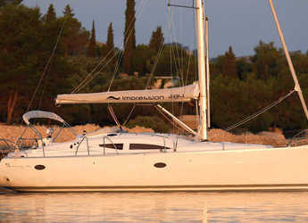 Rent a sailboat in Marina Kastela - Elan 384 Impression