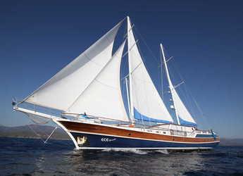 Rent a schooner in Ece Marina - Gulet Ece Berrak
