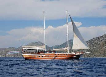 Louer goélette à Netsel Marina - Gulet Serhat Bey