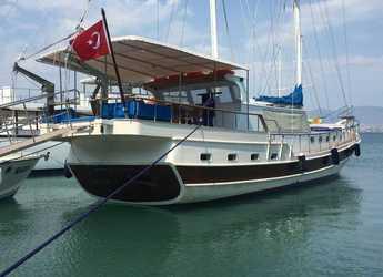 Rent a schooner in Ece Marina - Gulet Mert Bey