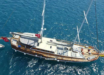 Louer goélette à Netsel Marina - Gulet K.Mehemet Bugra