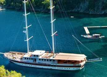 Rent a schooner in Ece Marina - Gulet Tersane 8