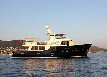Rent a yacht in Bodrum Marina - Trawler Troy explorer