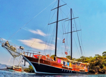 Rent a schooner in Ece Marina - Gulet Balu