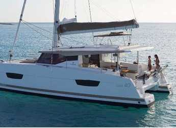 Rent a catamaran in ACI Marina Vodice - Fountaine Pajot Lucia 40