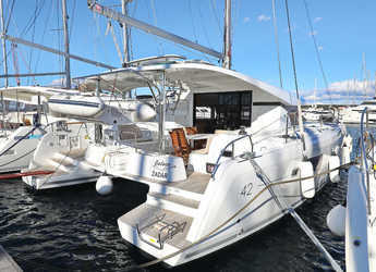 Rent a catamaran in ACI Marina Vodice - Lagoon 42 - 4 + 2 cab.
