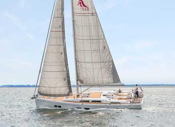 Chartern Sie segelboot in Port Lavrion - Hanse 548 - 5 cab.