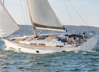 Rent a sailboat in Port Gocëk Marina - Hanse 458