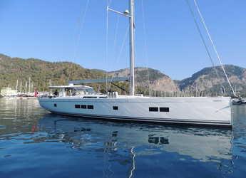 Chartern Sie segelboot in Port Gocëk Marina - Hanse 675 - 3 cab.