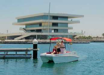 Rent a power catamaran  in Marina Real Juan Carlos I - Olbap 5 - Sin Licencia