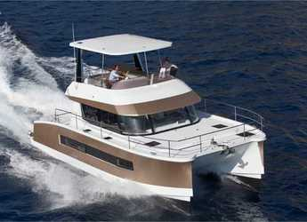 Rent a power catamaran  in Muelle de la lonja - Fountaine Pajot MY 37