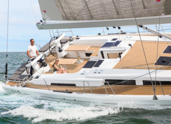 Rent a sailboat in Marina Deportiva Alicante - Hanse 548