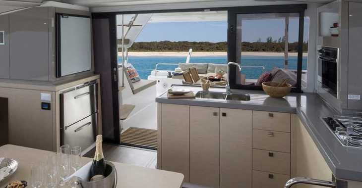 Alquilar catamarán Lucia 40 en Blue Lagoon, San Vincent