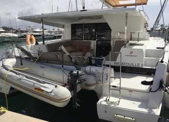 Rent a catamaran in Marina Port Pin Rolland - Lucia 40