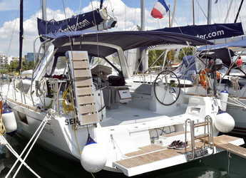 Rent a sailboat in Marina Port Pin Rolland - Oceanis 48