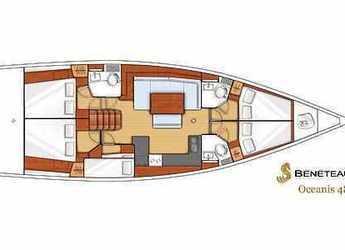Louer voilier à Kalkara Marina - Oceanis 48