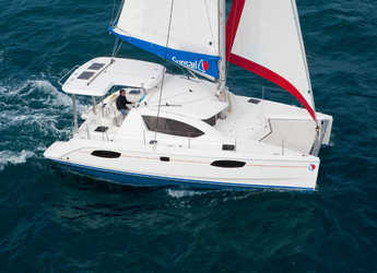 Rent a catamaran in Port Louis Marina - Sunsail 404 (Premium)