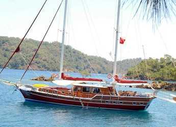 Rent a schooner in Leros - Goleta 24 m