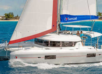 Rent a catamaran in Captain Oliver's Marina - Sunsail 424 (Premium Plus)