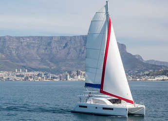 Rent a catamaran in Marina Zeas - Sunsail 404 (Classic)