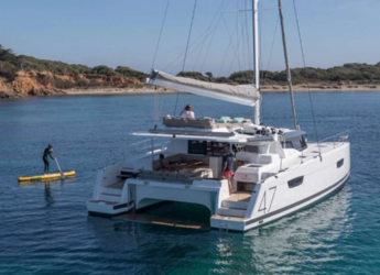 Rent a sailboat in Red Hook -  Fountaine Pajot 47