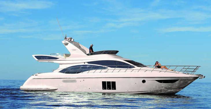 Rent a motorboat in Marina Mandalina - Azimut 58