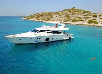 Rent a yacht in Marina Zadar - Ferretti 681