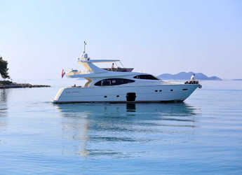 Rent a yacht in Split (ACI Marina) - Ferretti 780