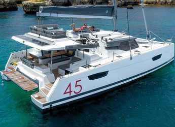 Rent a catamaran in Preveza Marina - Elba 45