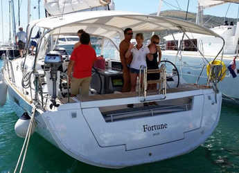 Rent a sailboat in Baska Voda - Oceanis 45
