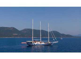 Rent a schooner in Mykonos - Gulet Artemis
