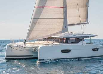 Chartern Sie katamaran in Harbour View Marina - Fountaine Pajot Astrea 42 - 4 + 2 cab.