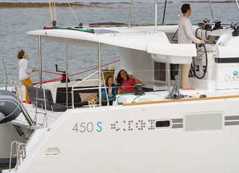 Rent a catamaran in Nanny Cay - Lagoon 450 S