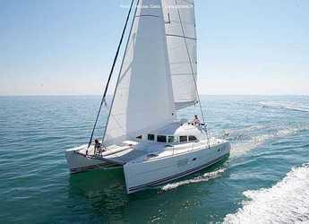 Chartern Sie katamaran in Marina del Sur. Puerto de Las Galletas - Lagoon 380 S2
