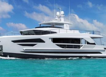 Chartern Sie yacht in Tortola Trellis Bay - Horizon FD 85