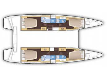Rent a catamaran in Ibiza (city) - Lagoon 42