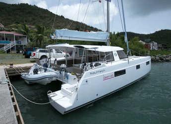 Rent a catamaran in Nanny Cay - Nautitech 40 Open - 4 + 1 cab.