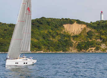 Chartern Sie segelboot in Port of Can Pastilla - Hanse 548 - 3 + 1 cab.