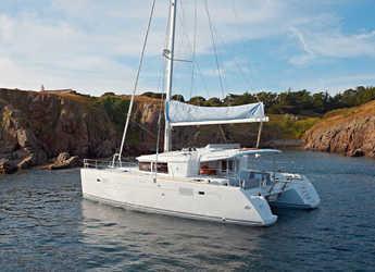 Rent a catamaran in Mykonos - Lagoon 450  Flybridge