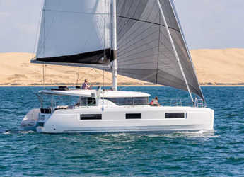 Rent a catamaran in Port of Lefkada - Lagoon 46