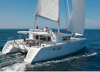 Rent a catamaran in Port of Lefkada - Lagoon 450  Flybridge