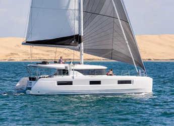 Rent a catamaran in Port Lavrion - Lagoon 46 A/C & GEN