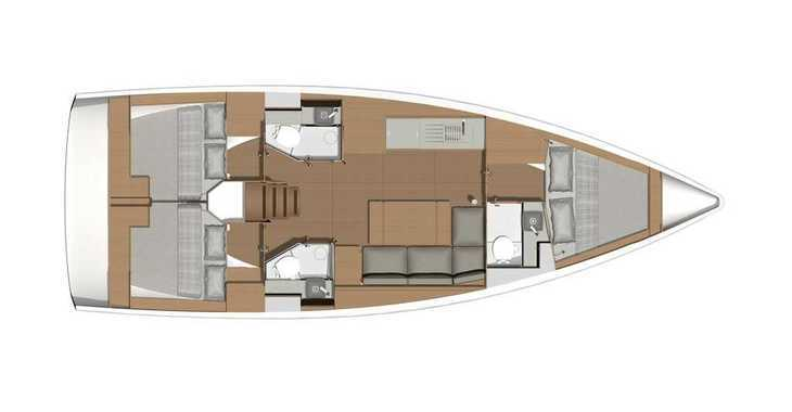 Rent a sailboat in Marina Gouvia - Dufour 390 Grand Large