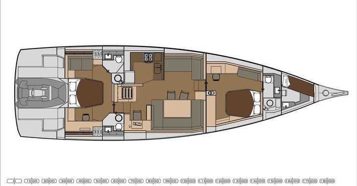 Rent a sailboat in Mykonos - Dufour 63 Exclusive