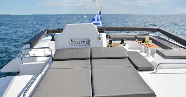 Rent a catamaran in Mykonos - Dufour 48 Catamaran