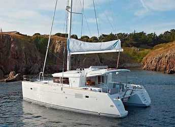 Rent a catamaran in Trogir (ACI marina) - Lagoon 450 Flybridge